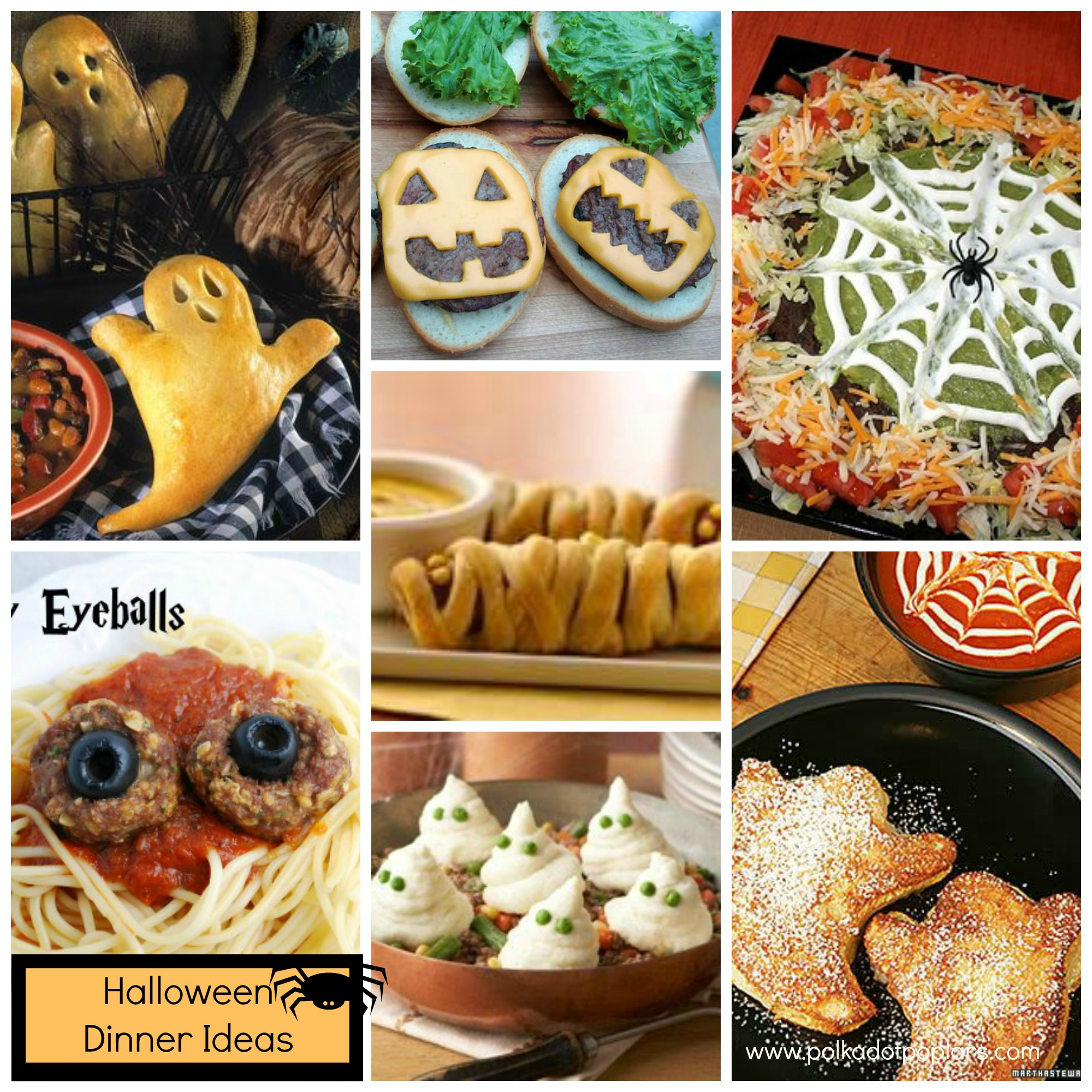 Halloween Dinner Party Menu Ideas Part - 24: Polkadotpoplars.com