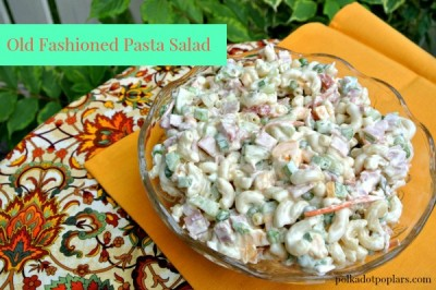 Old Fashioned Pasta Salad