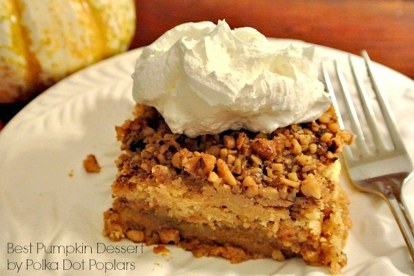 Best Pumpkin Dessert