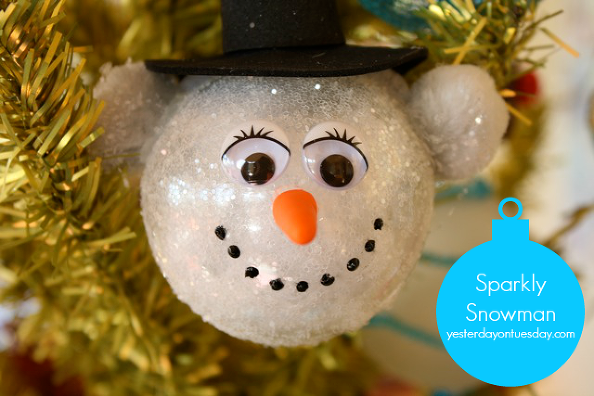 Sparkly-Snowman-Ornament