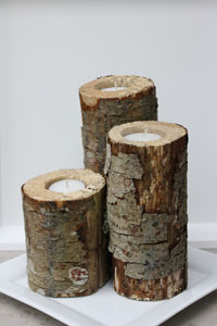 wedding-shower-centerpieces-log-candle