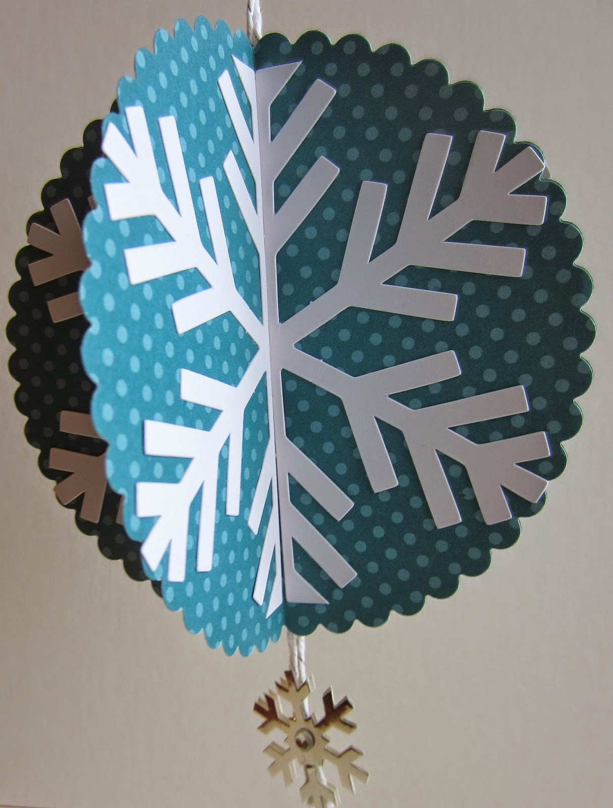 pp snowflake ornament