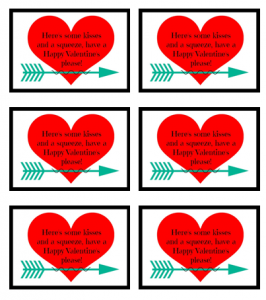 Valentine Tags 2