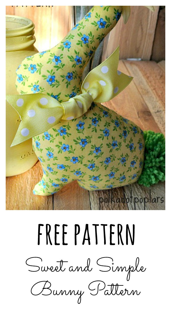 Cute and Easy Bunny Pattern