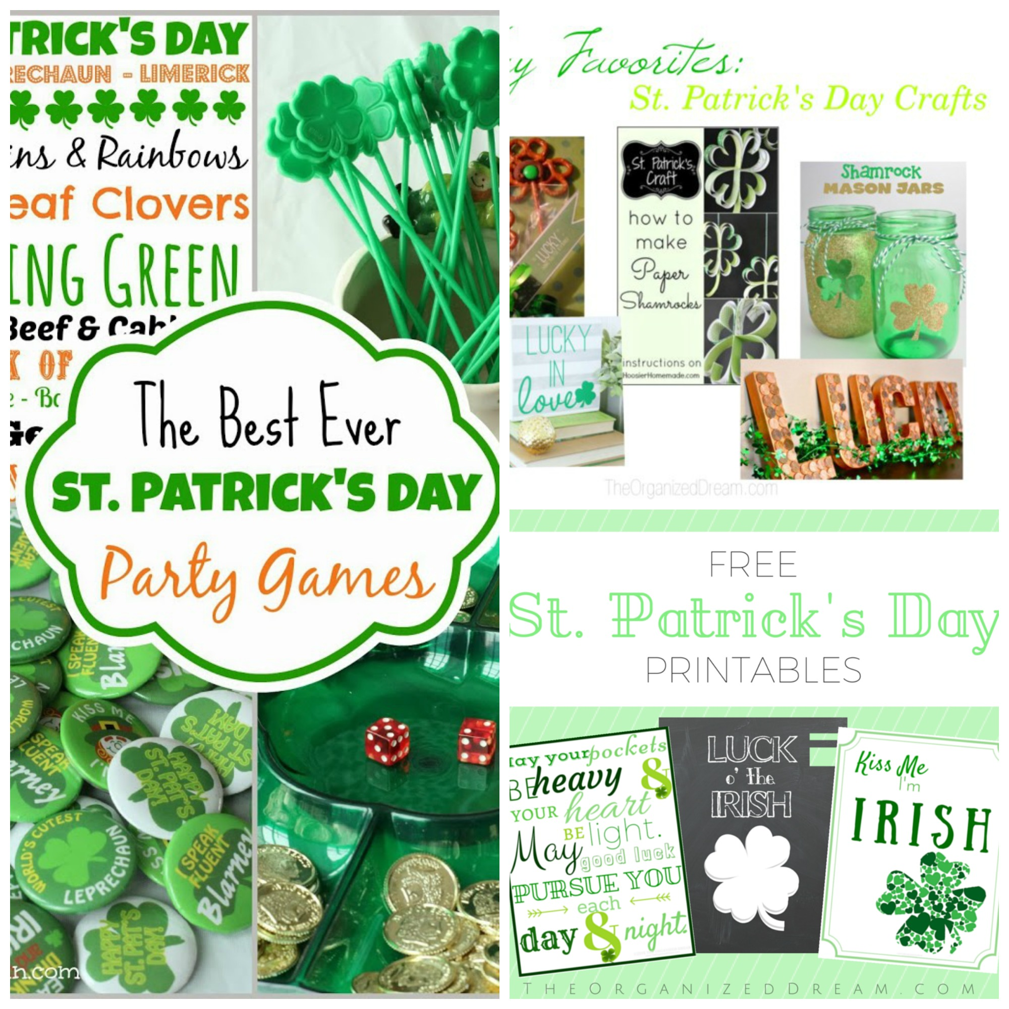 St. Patricks Day Link Party