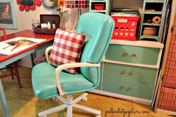 Recycled Leather Office Chair
