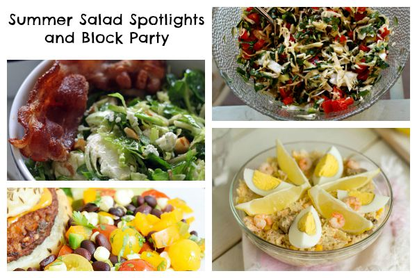 Summer Salads (Link Party)