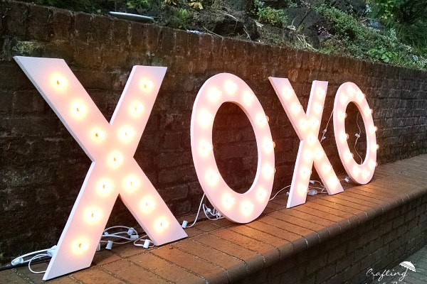 DIY Marquee Letters (Link Party)