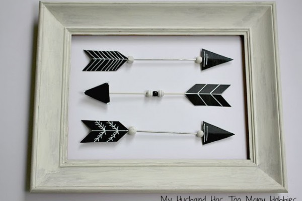 Arrow Wall Art (Link Party)