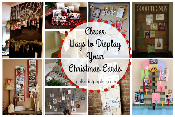 Christmas Card Holder Ideas