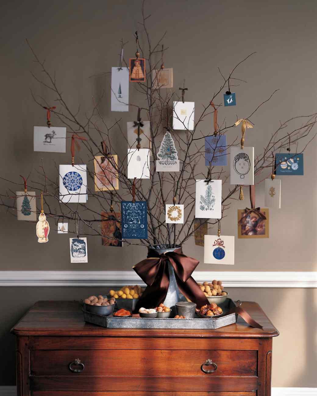 Christmas Card Holder Tree