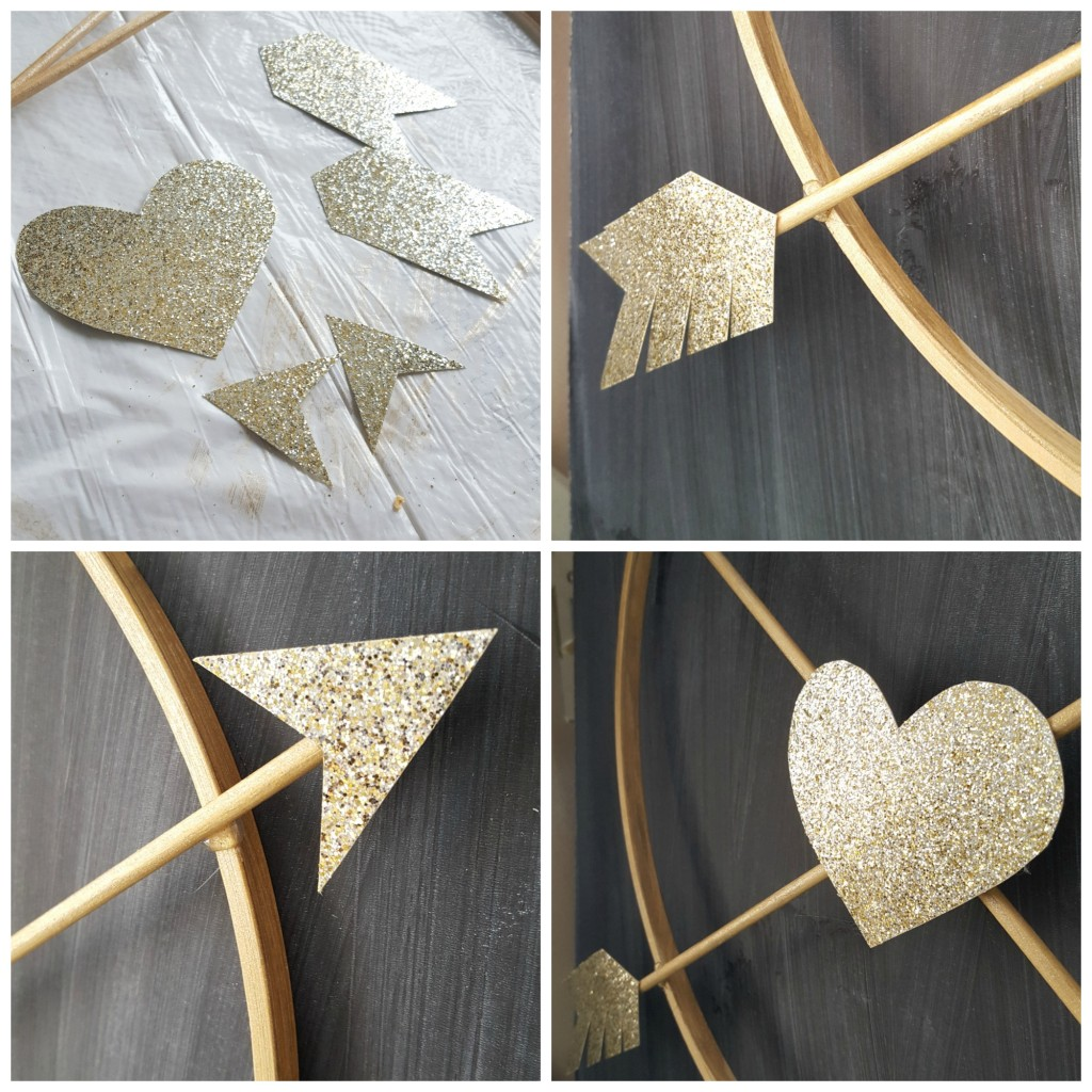 Valentine Arrow Wreath
