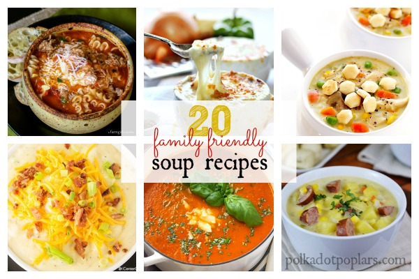 Soup Roundup Collage