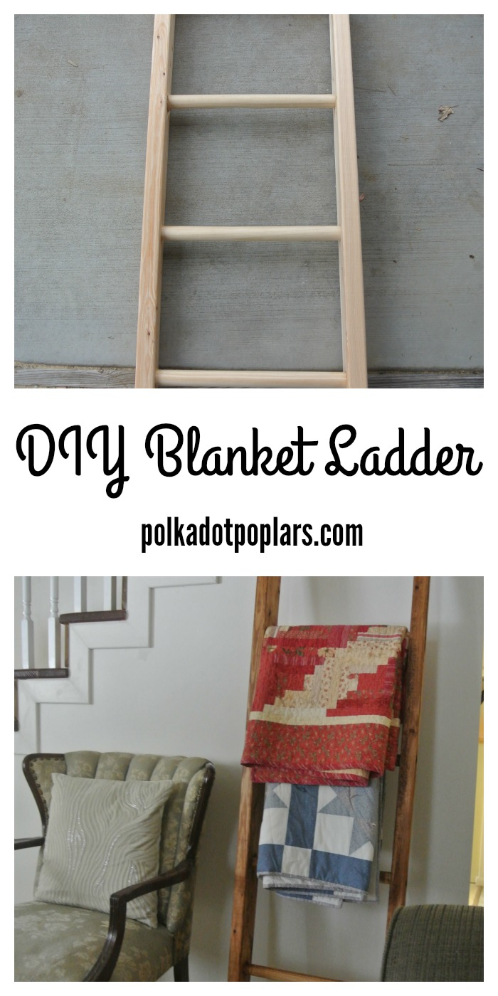 Make this blanket ladder for under $15.