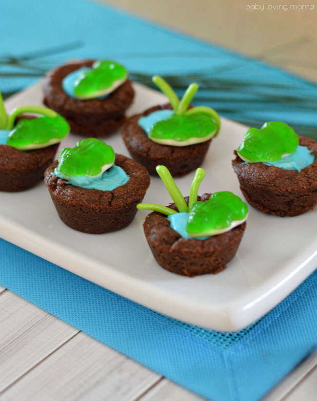 Easy-Frog-Pond-Cookie-Cups