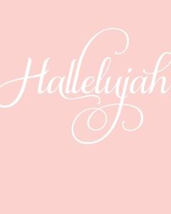 Hallelujah-8x10