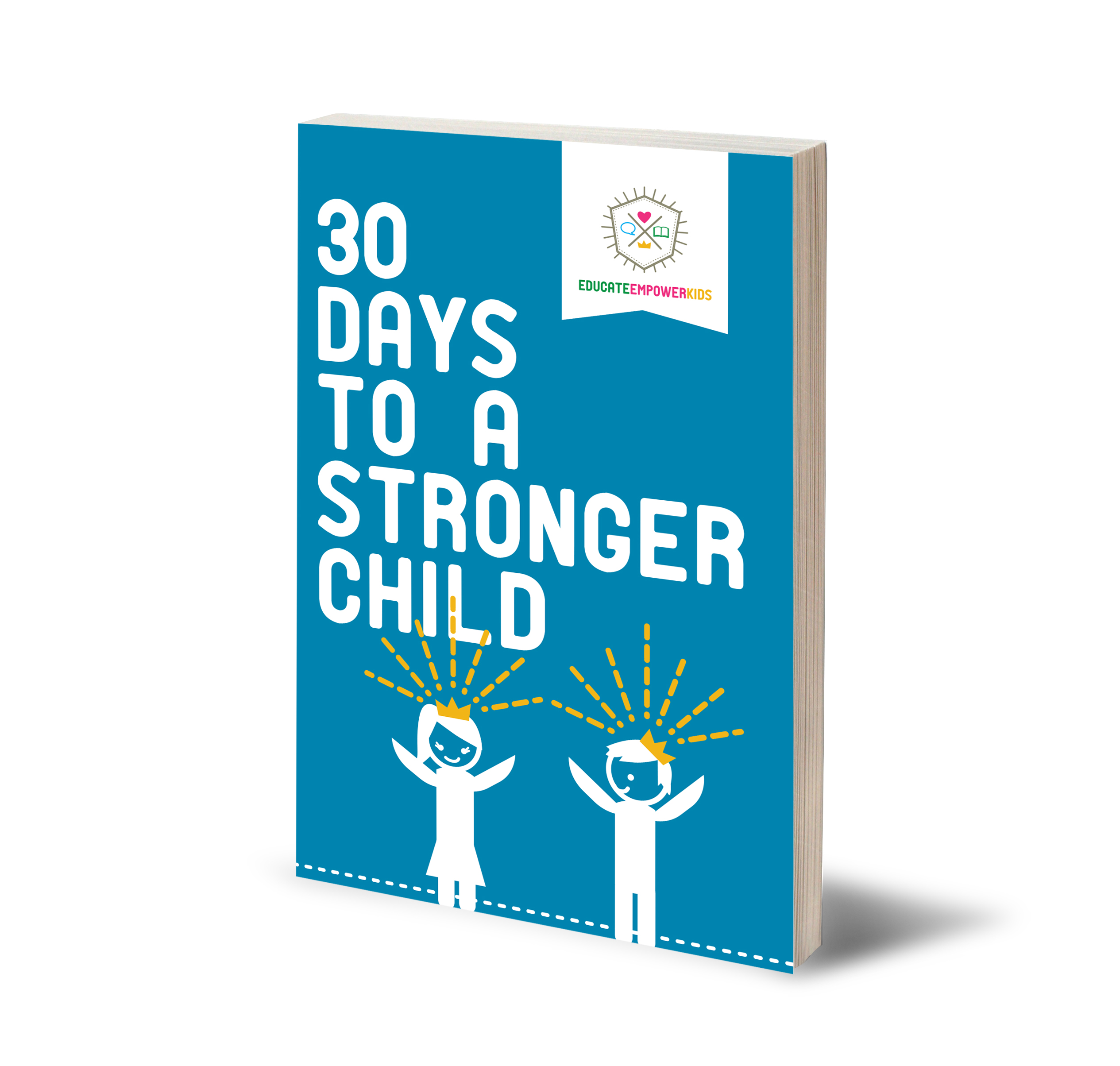 Great new book! 30 Days to a Stronger Child. Tons of great lessons, activities, tips and advice to help you connect with your child and strengthen him/her at the same time. What makes a Strong Child? Find out! And help your child be his/her best self. For parents of kids, teens and tweens. In an uncertain, disconnected world, this is a unique parenting book that increase bonding and builds resilient children! Be the parent you wish you had (Available on Amazon).