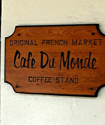 The famous Cafe Du Monde in New Orleans, Louisiana