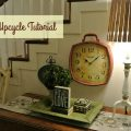Turn any old lamp into a piece you would be happy to put into your home with this free tutorial.