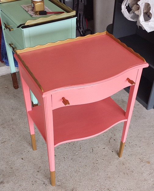 Painting furniture with children tips and tricks.