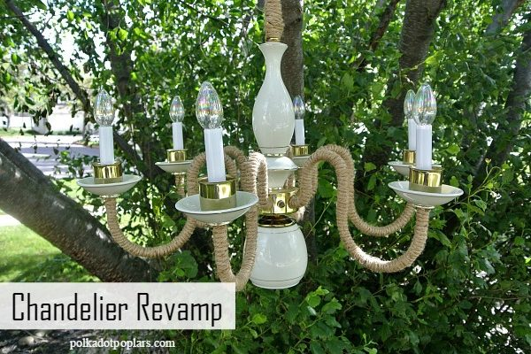 Chandelier Revamp – Upcycle Challenge