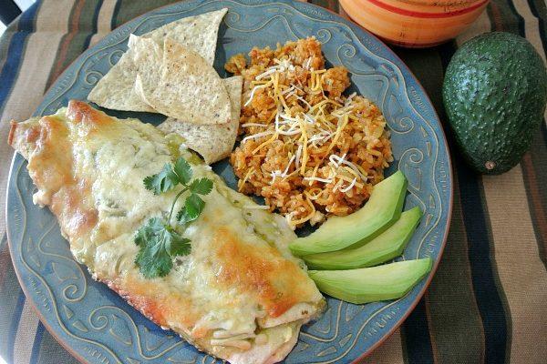 Best Chicken Cream Cheese Enchiladas