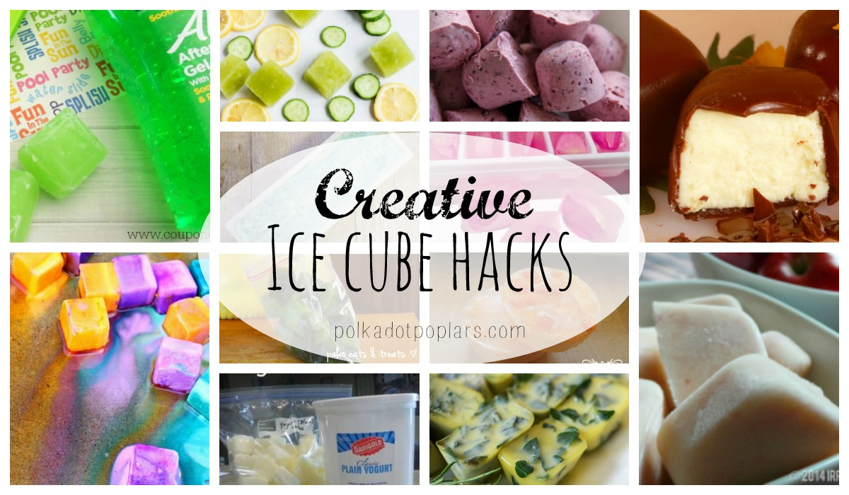 Creative Ice Cube Hacks