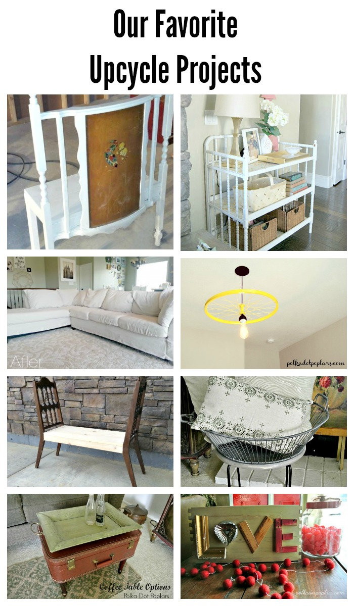 Lots of fun upcycled projects here.