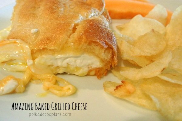The Best Baked Grilled Cheese