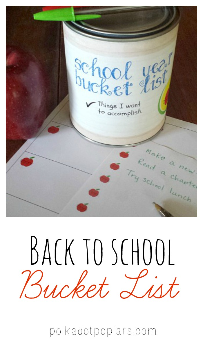 A fun idea to help your children have a successful school year.