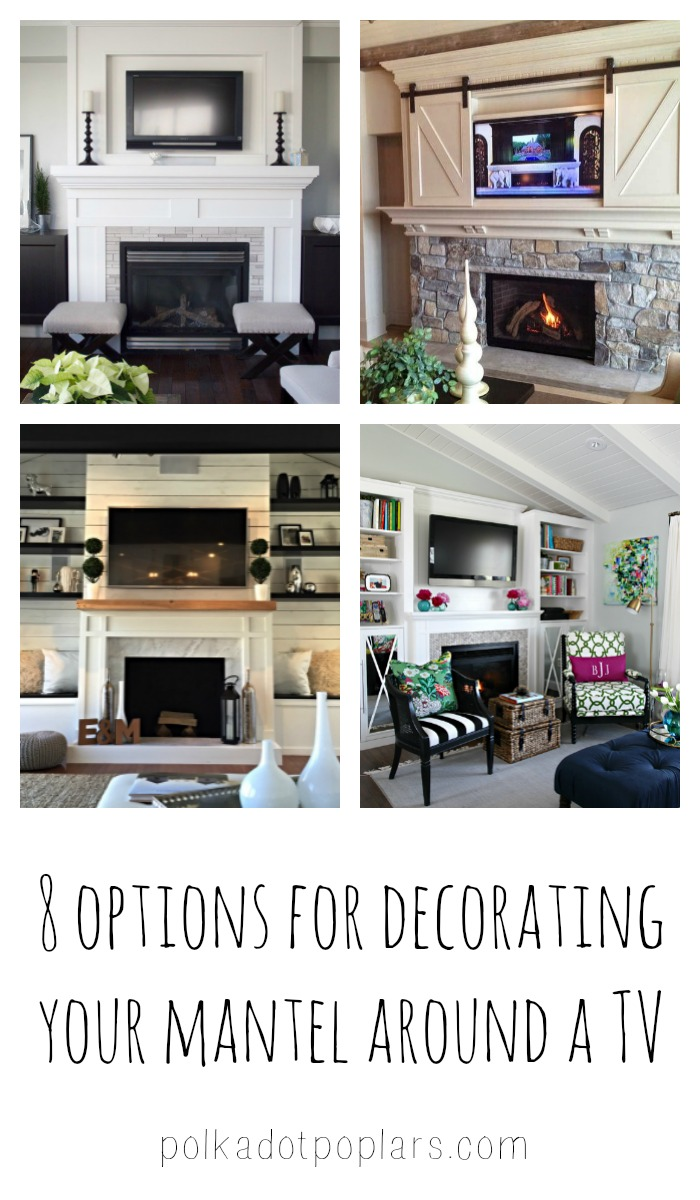Unique Ways To Decorate A Mantel Around A TV
