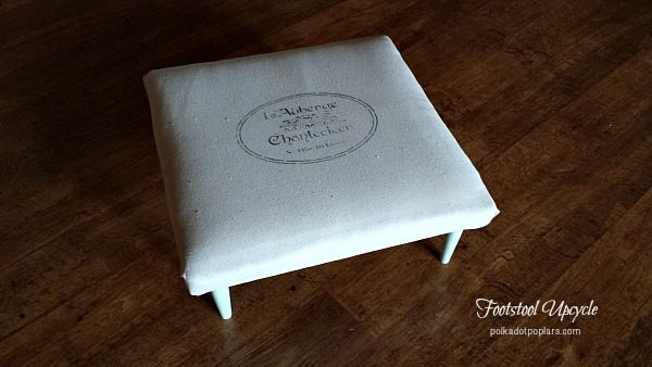 Stenciling Tips And Footstool Upcycle