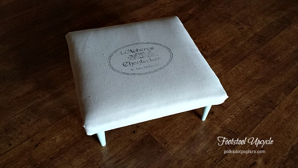 Footstool Upcycle DIY
