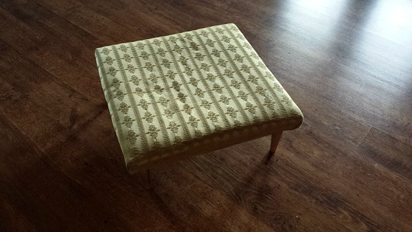 Footstool Upcycle