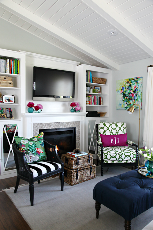 Room With a Fireplace