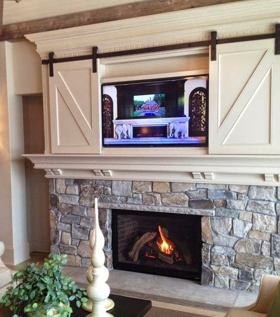 Barn Doors Over TV
