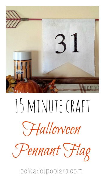 15 Minute Halloween Craft