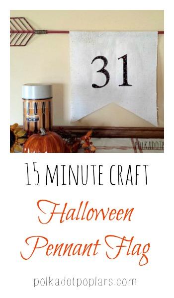 15 Minute Halloween Craft