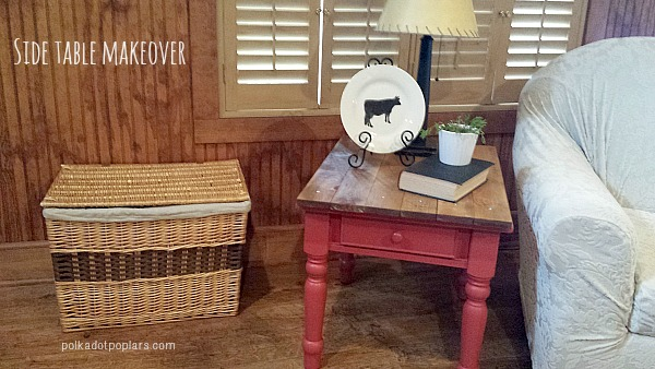 farmhouse-side-table-makeover