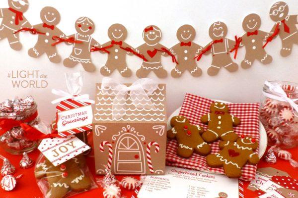 Gingerbread Gift Set Printables