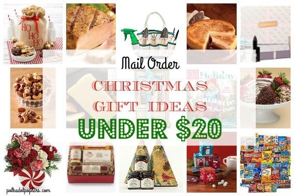 Mail Order Gift Ideas Under $20
