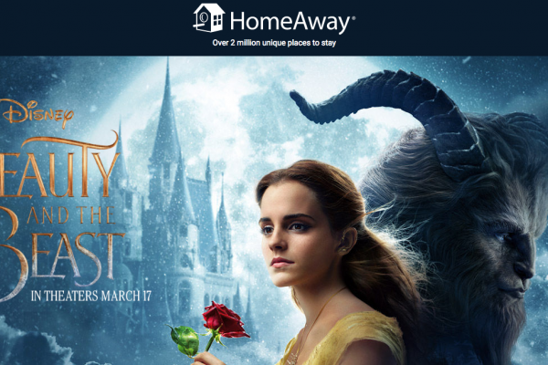 Beauty and the Beast Giveaway From HomeAway