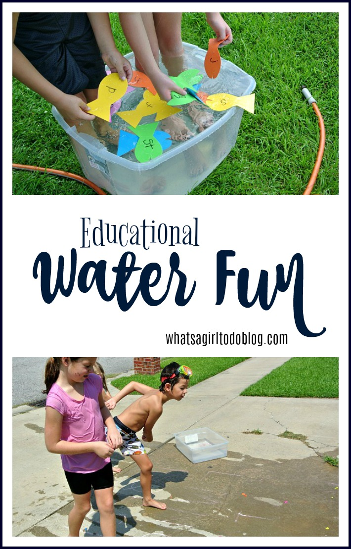 water fun for the summer