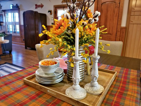 fall table scape