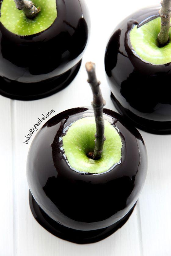 Black Caramel Apple