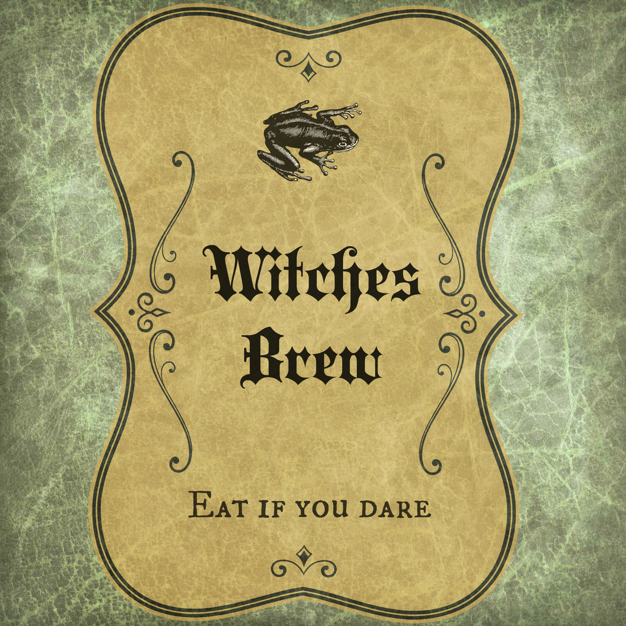 Witches Brew Label