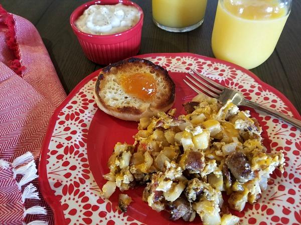 breakfast on a plate