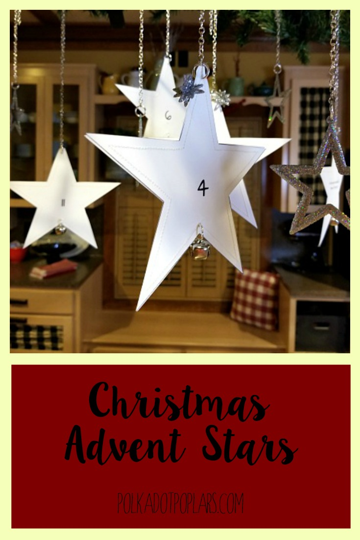 Pinterest Christmas Advent Stars