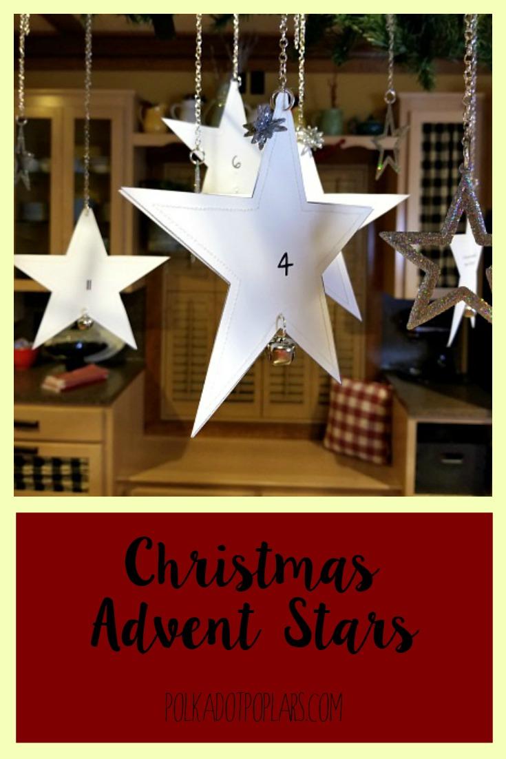 Pinterest Christmas Advent Stars