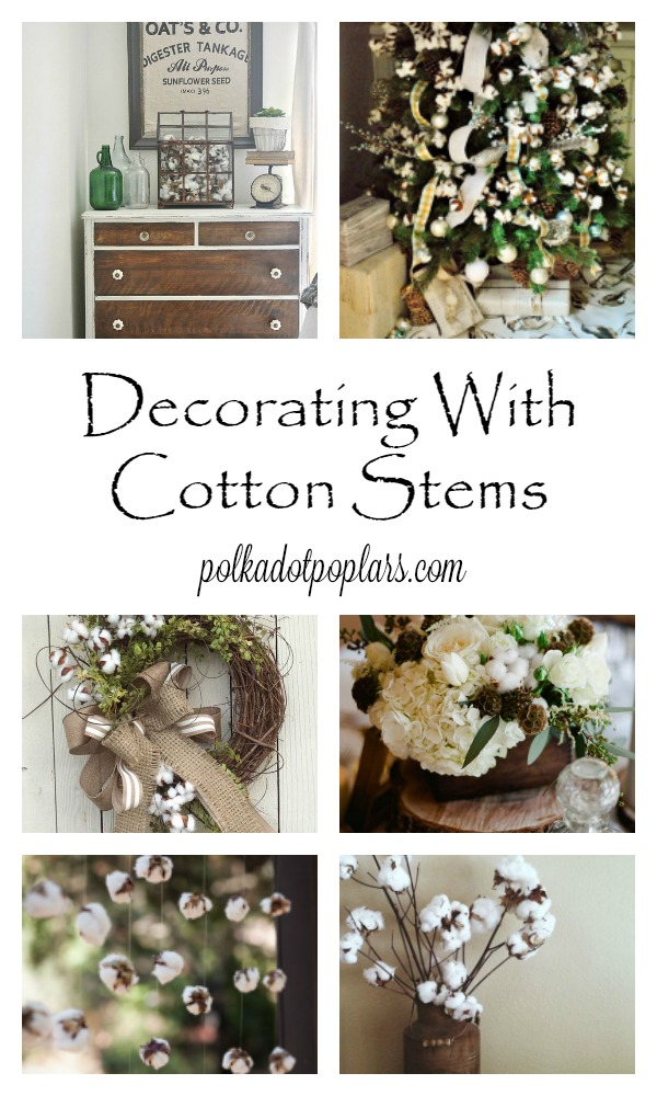 cotton stem ideas